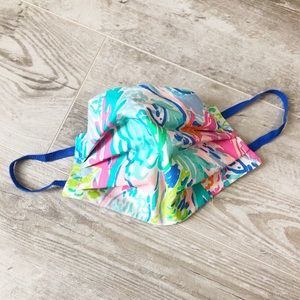 Lilly Pulitzer Fabric face mask